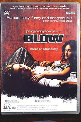 Blow  -  Used DVD VG