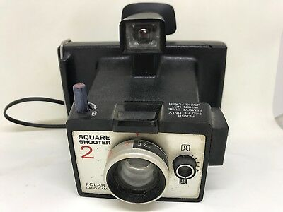 Vintage Polaroid Land Camera 'Square Shooter' Camera 1971-72