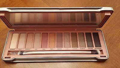 12 Colors New  Eye Shadow Make Up Cosmetic Matte Palette 3 +Brush