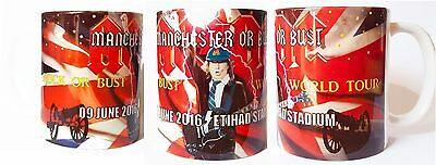 Ac/dc-Rock Or Bust Tour - Manchester- Etihad Stadium  -9Th June 2016- Mug