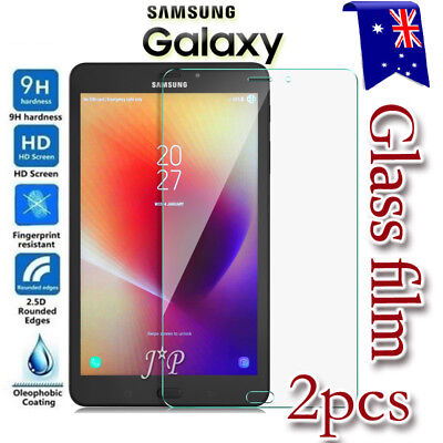 2X Samsung Galaxy Tab A 8.0 2017 T380 T385 Tempered Glass Film Screen Protector