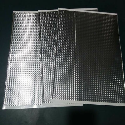 30 Sheets Pack Car Van Deadening Sound Proofing Damping Mat 187 x 265 mm x 2mm