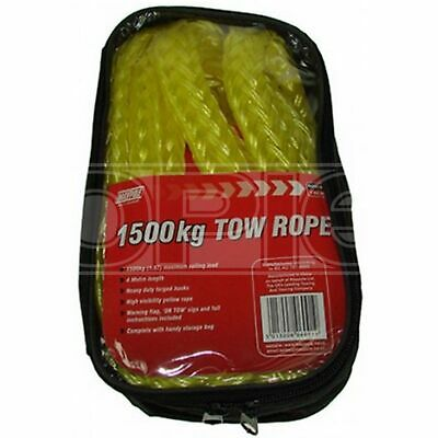 Maypole Tow Rope - 4m Length (Max load 1500kg) (6091)