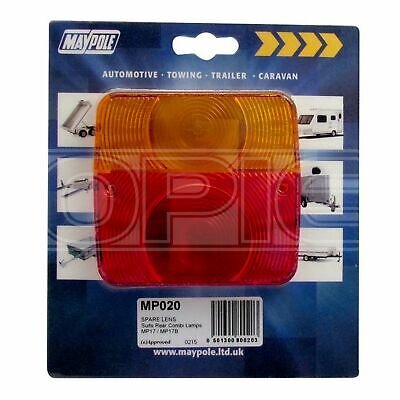 Maypole Rear Lamp - Square - Lens Only - 017 (020)
