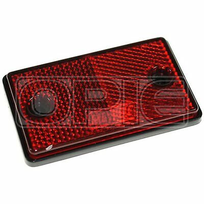 Maypole Reflectors - Oblong - Red (MP8722SS)
