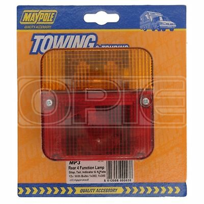 Maypole Rear Lamp - Square - Combination (003)