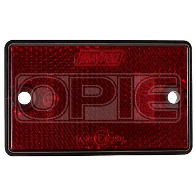 Maypole Reflectors - Oblong - Red (MP8722)