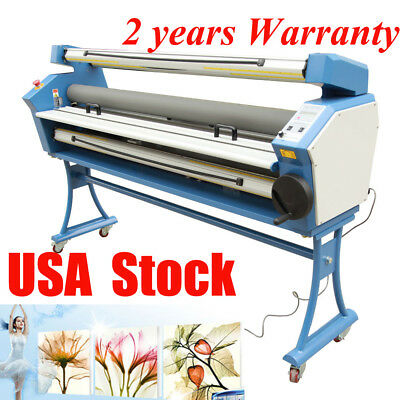 """USA 55"""" Entry Heat Assist Full-auto Heat Wide Format Cold Laminator Roll to Roll"""