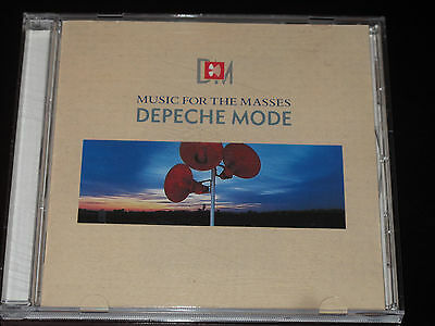 Depeche Mode Music For The Masses 1990 Belgium Indisc Press Near Mint Very Rare