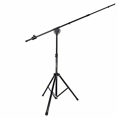"""LyxPro SMT-1 Professional Microphone Heavy Duty 90"""" Studio Overhead Boom Stand"""