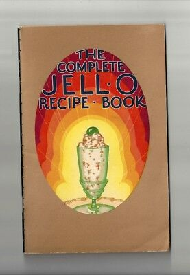 1929 Antique Collectible Exquisite JELL-O Dessert Booklet