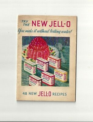 1932 Antique Collectible Exquisite JELL-O Dessert Booklet