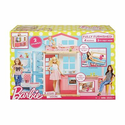 NEW Barbie 2-Story House