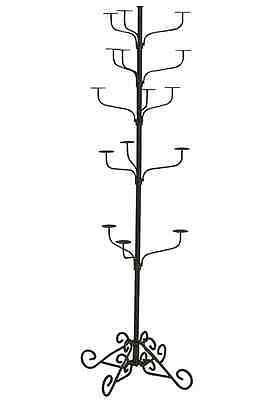 Hat Display Rack Boutique 5-Tier Millinery Floor Stand Custom Oil Rubbed Bronze