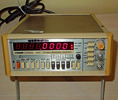 BK Precision Dynascan Model 1822 175 MHz Universal Counter Tested Fast shipping