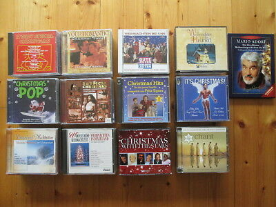 70 CDs - Christmas - Weihnachten - Rock Christmas - Holy Night - SAMMLUNG 1