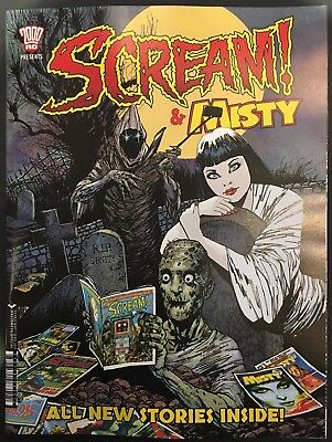 Scream and Misty #1 Halloween Special NM- Free UK P&P 2000AD Magazine