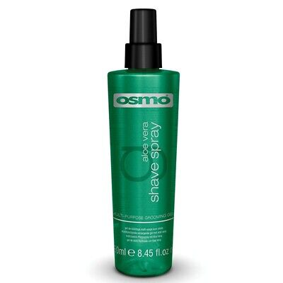OSMO Aloe Vera Shave Spray Grooming Gel Soothing Non-Iritant Formula 250ml
