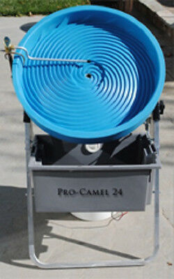 Camel Mining Pro-Camel 24 Spiral Gold Panning Machine New Updated Design