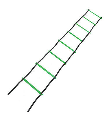 4m Speed Agility Ladder - Exercise Sport Football Agility Ladder 4 metres long