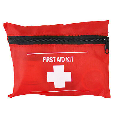 23 Piece First Aid Emergency Kit Car Bike Home Medical Camping Office Travel,