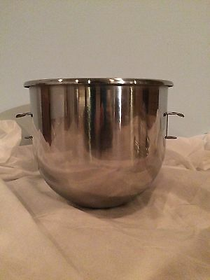 New 20 Quart Qt Stainless Steel Mixing Mixer Bowl for Hobart Mixers A200