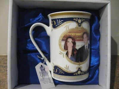Royal Crest Commemorative Mug Royal Wedding of Prince William to Kate Middleton