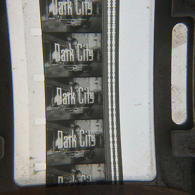 16mm film DARK CITY - ODD REEL - Reel One - B&W 50s noir crime thriller classic