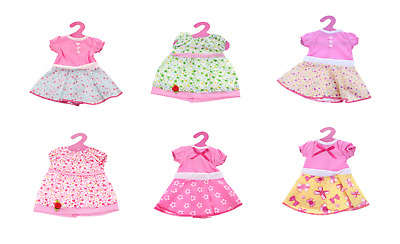 40-45cm doll dresses clothes for baby dolls outfits fashion dress up girls