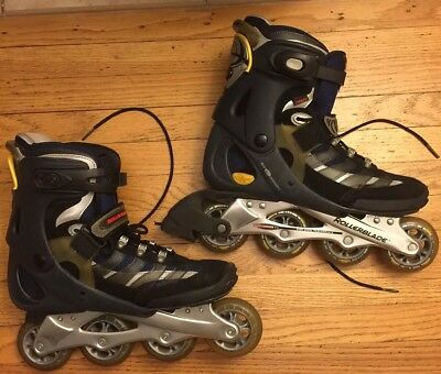 Rollerblades Core 07 Size 9 In EUC Inline Roller Skates Storage Bag Included