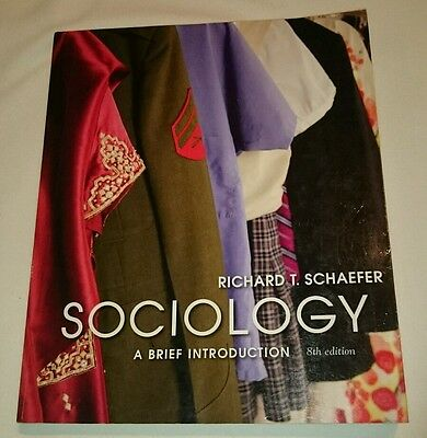 Sociology a brief introduction 10th edition by richard t schaefer sociology a brief introduction richard t schaefer 8th edition fandeluxe Images