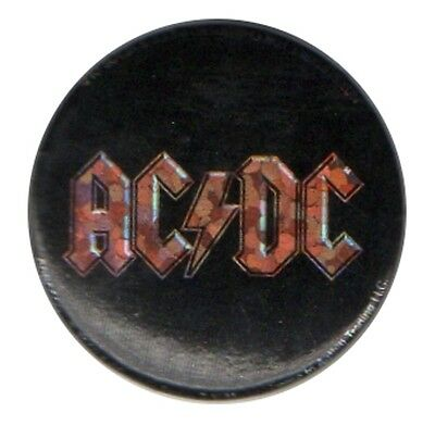 ACDC Sparkle logo 1 inch button pin badge Official