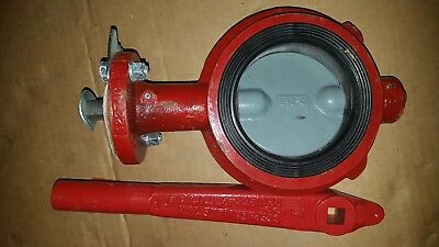 "New FMC Model 12 Weco Butterfly Valve 3245819 Size 4"" -20°F to +200°F 175 PSI"