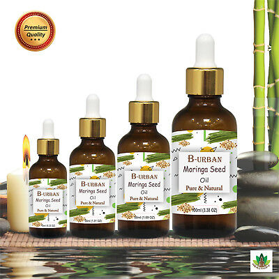 Moringa Seed Carrier Oil Natural Pure Undiluted Aromatherapy 15Ml To 100Ml