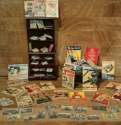 Second World War Joblot, Posters, Ration Books, documents, newspapers, photo's!!