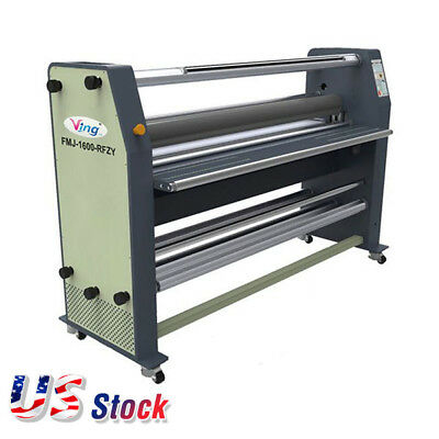 "US Stock 2500W 63"" High End Full-auto Wide Format Hot Laminator AC 110V, 60Hz"