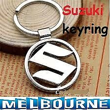 Suzuki Logo Stainless Keyring Key Ring Key Chain Swift SX4 Alto