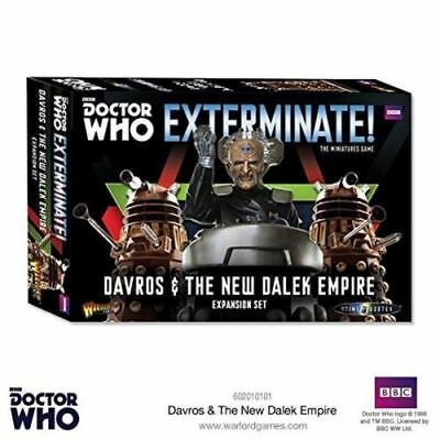 Doctor Who Exterminate - Davros & New Dalek Empire (Warlord Games)