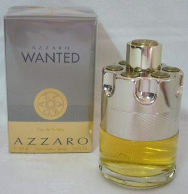 Azzaro Wanted 100 ml Eau de Toilette Spray, Neu / Folie