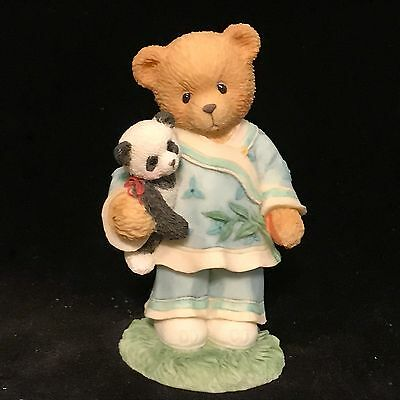 Cherished Teddies Lian (China) #202347 - Our Friendship Spans Many Miles