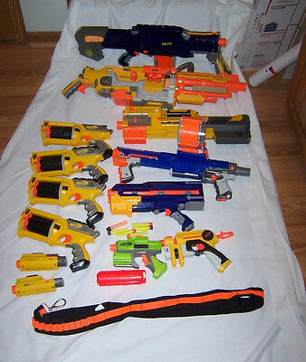 Big Lot Nerf Guns & Accessories Raider CS-35 Deploy CS-6 Longshot Maverick