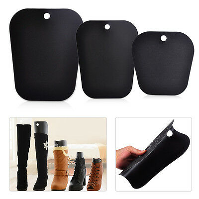 2pcs Reelable Plastic Long Boots Shoes Stand Holder Support Stretcher Organizer