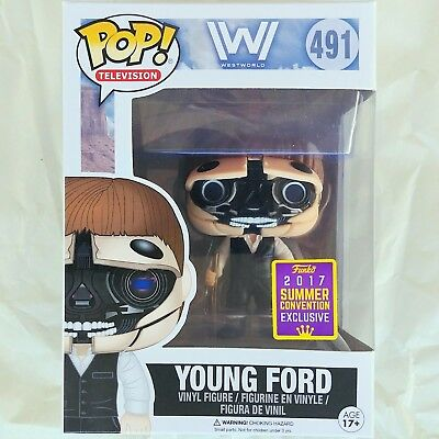 ROBOTIC YOUNG DR. FORD Funko Pop Television HBO WestWorld #491 SDCC Exclusive!