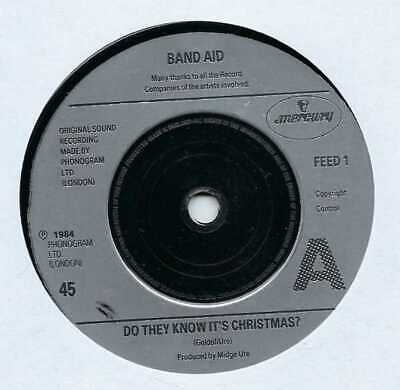 """Band Aid - Do They Know It's Christmas? - 7"""" Single"""