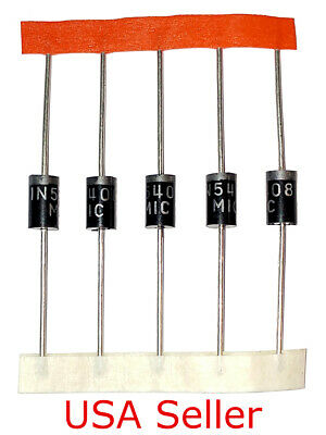 1N5817 Diode 20pcs Schottky Rectifier Diodes 20V 1A DO-41 IN5817 USA Seller