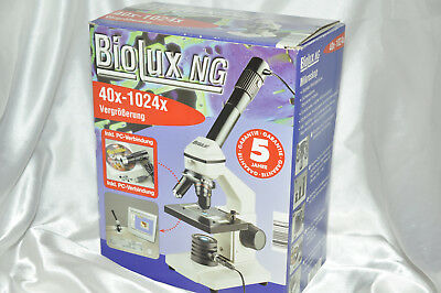 Guter Biolux NG Microscope mit PC Funktion 40x -1024  Top