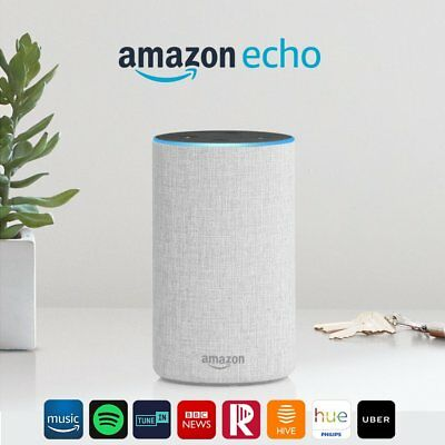All-New Amazon Echo Alexa 2nd 2017!Many Colors Available!Special Offer!
