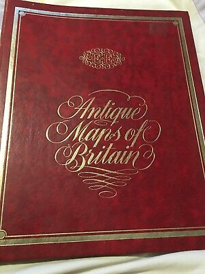 Antique Maps Of Britain Collection Rare Vintage Bound mostly 1600's