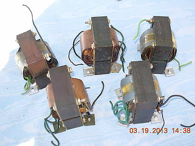 Cde Cornell Dubilier Transformer 110 Volts  Pri.  And 29 Volts Sec. Volts Used