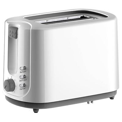 NEW Target Essentials Toaster 2 Slice Cancel Reheat And Defrost Functions